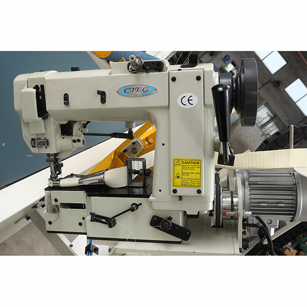 How To Install Tape Edge Machine Sewing Head